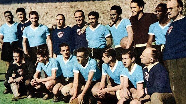 Selección uruguaya de 1950, campeona del mundo