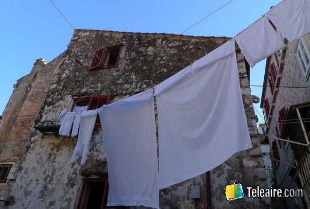 Las antiguas casas de Dubrovnik