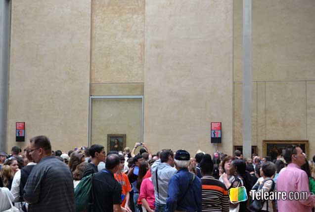 Gioconda en el Louvre de París
