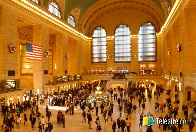 Interior de la Grand Central Terminal