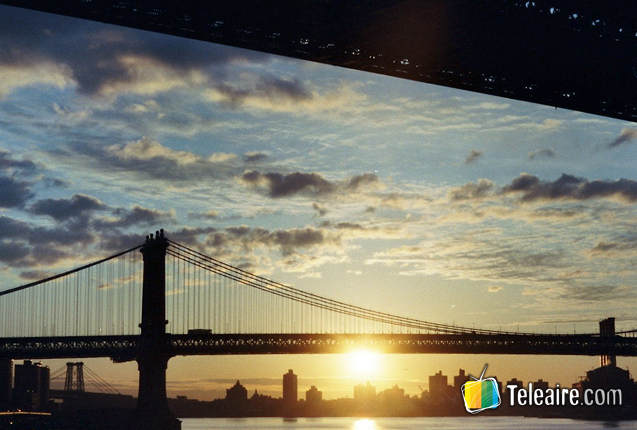 Puente de Brooklyn en Manhattan