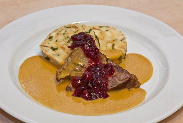 Sirloin, una comida tipica de la gastronomia checa