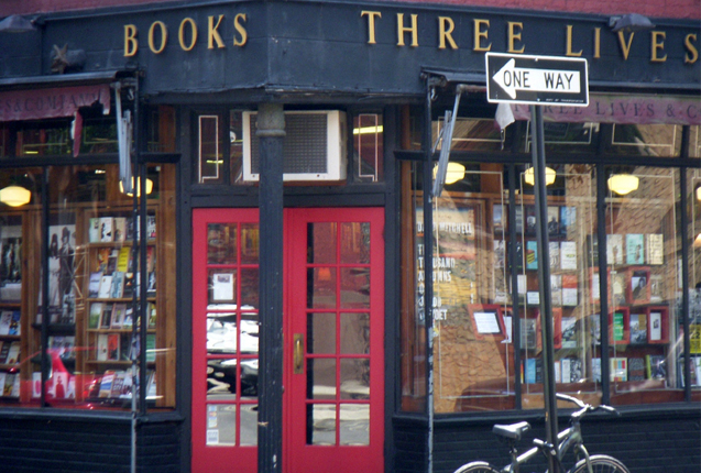 la libreria three lives en Nueva York
