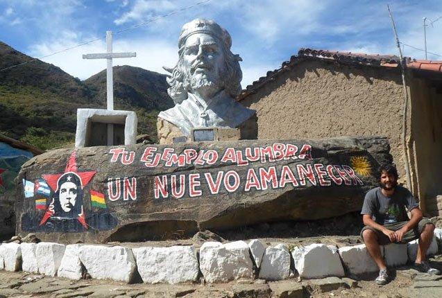 Busco en memoria al Che en Bolivia