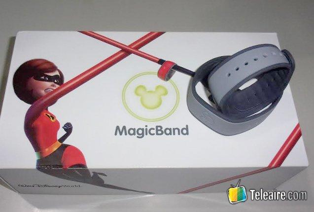 Caja de las Magic Band de Acceso al Parque de Disney
