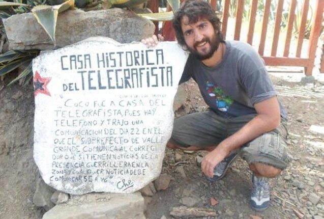 El Telegrafista, un hostel de las cronicas del Che