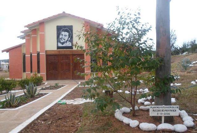 Mausoleo en memoria al Che en Vallegrande