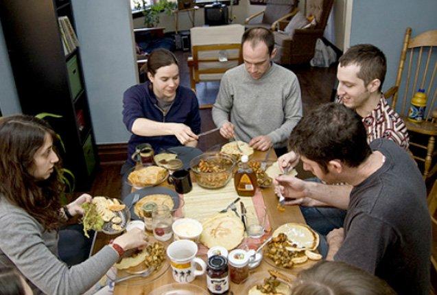 comunidad meal sharing