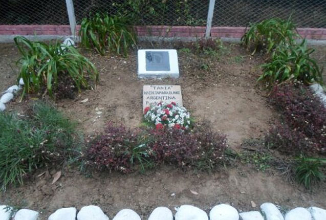 La tumba de Tania la guerrillera del Che