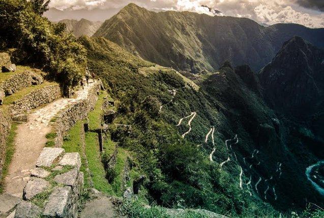 panoramica de las ruinas de machu picchu