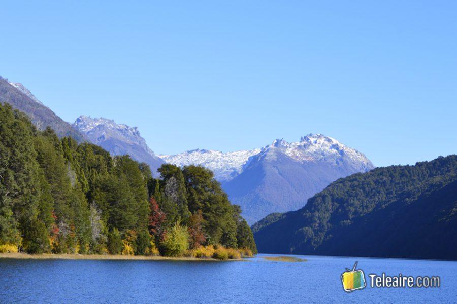 Vista del Lago Steffen desde la casa del Guardaparque