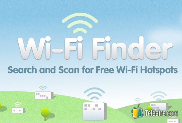 Captura del sitio Wi-Fi Finder