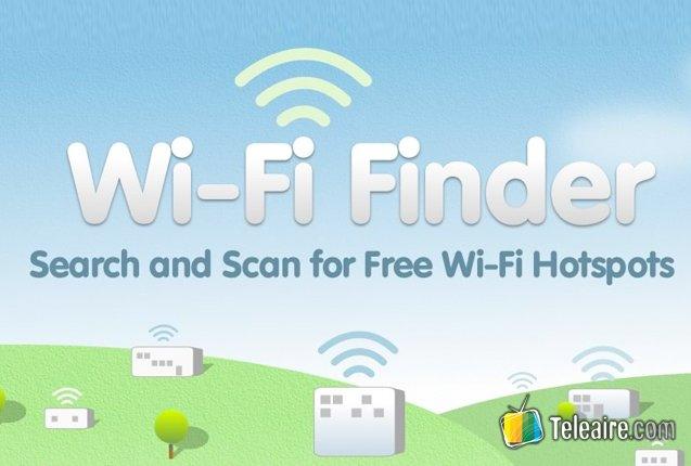 Captura del sitio Wi-Fi Finder