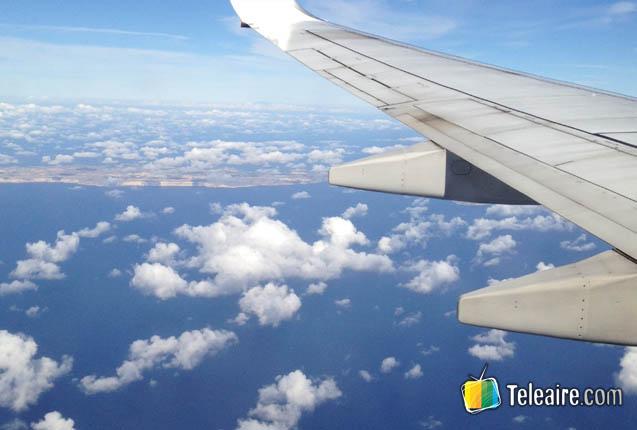 foto en pleno vuelo