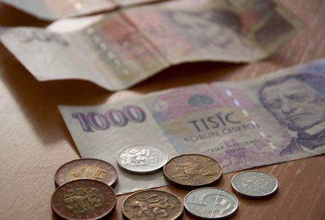 billetes de republica checa