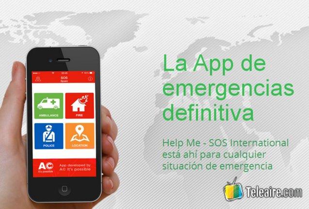 aplicacion Help Me para emergencias