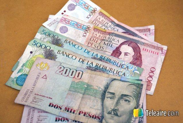 billetes de colombia