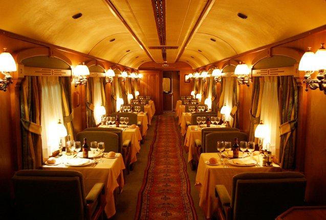 tren de lujo en España