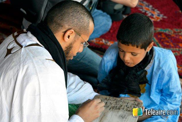 enseñanza en el Moussem de Tan Tan