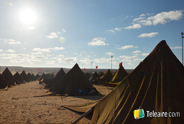 carpas autoctonas de los pueblos originarios del Sahara
