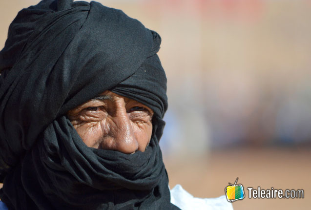 habitante de los pueblos originarios del Sahara
