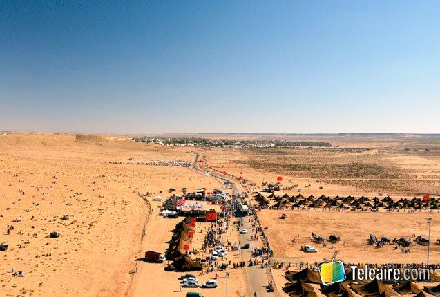 Vista panoramica del Moussem de TanTan