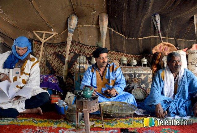 pueblos originarios cocinan en el Moussem de Tan Tan