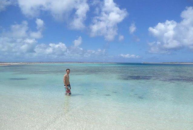 playa paradisiaca de los roques