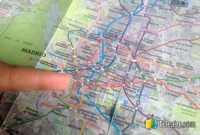 fotografia en mapa