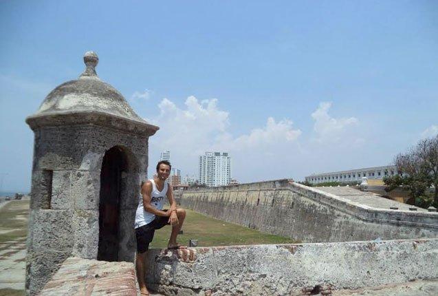 desde las murallas de cartagena