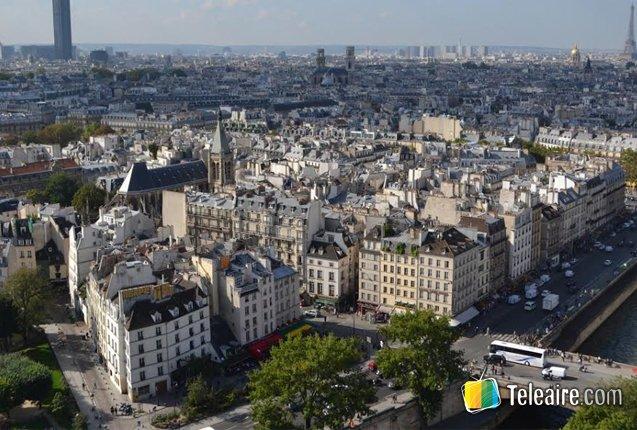imagen panoramica de paris