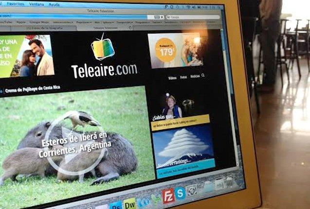 Teleaire desde wi-fi gratuito