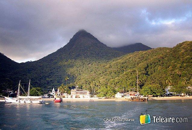 imagen del pueblo de Ilha Grande