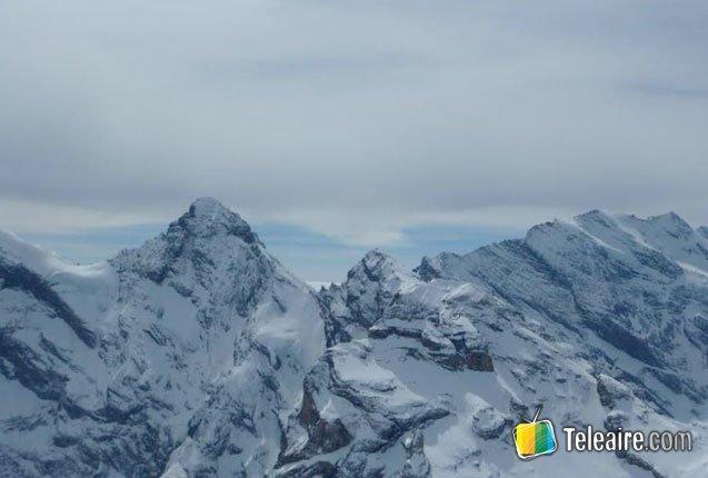 Los montes de Suiza