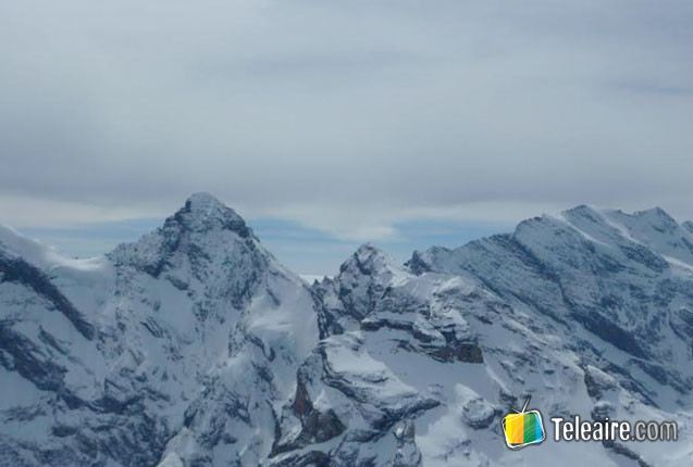 cima del schilthorn en suiza