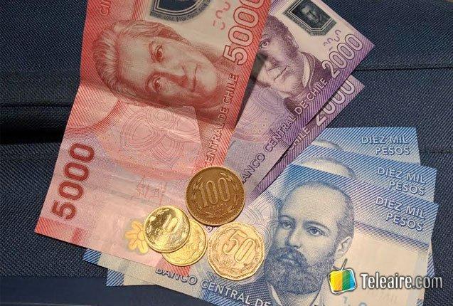 imagen de pesos chilenos