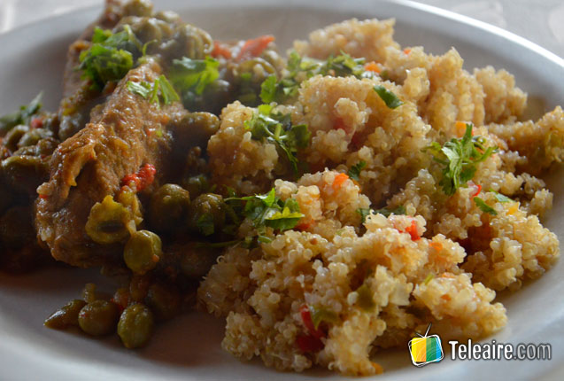 carne guisada de risotto