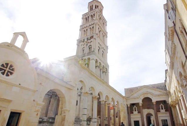 casco historico de Dalmacia