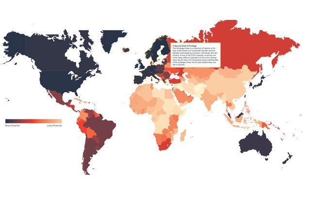 infografia sobre el alcance de los pasaportes