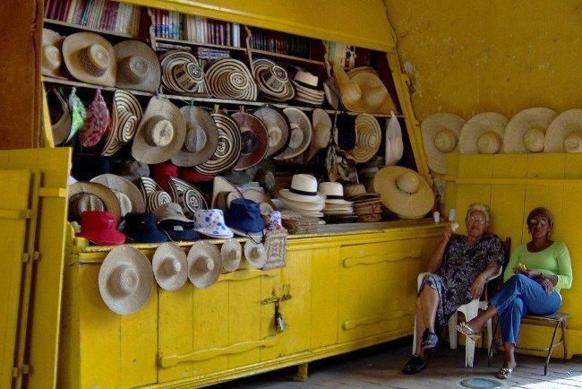 Sombrero vueltiao de Colombia