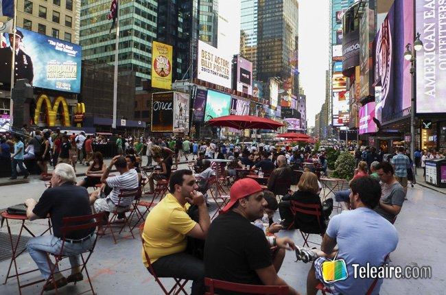 La intersección más famosa de Nueva York: Times Square