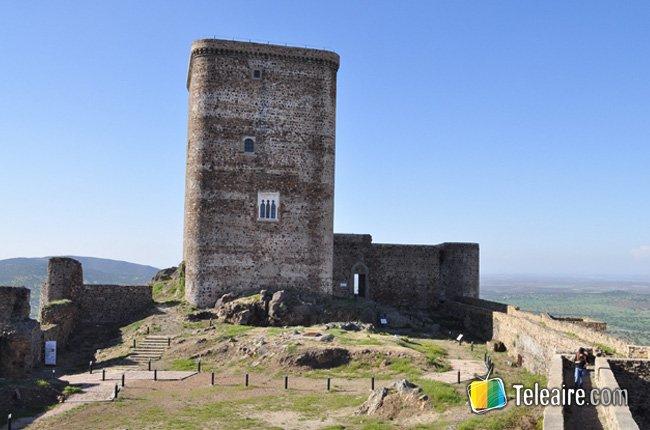 La Torre Homenaje en el Castillo de Feria