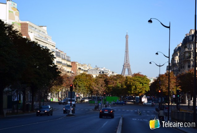 Vista de la ciudad de Paris