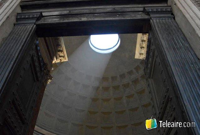 interior del panteon romano