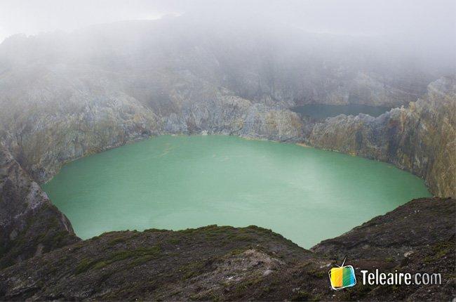 Tres lagos volcánicos acaparadores de almas