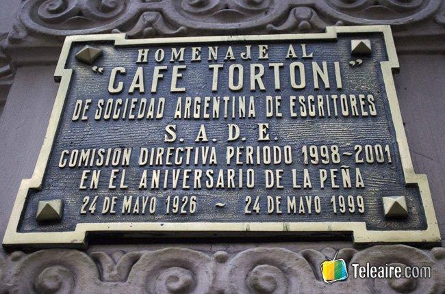 El Café Tortoni Buenos Aires 2