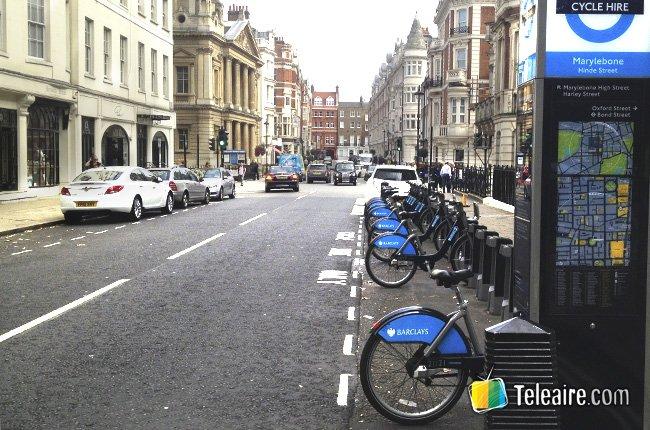 Recorrer Londres en bicicleta