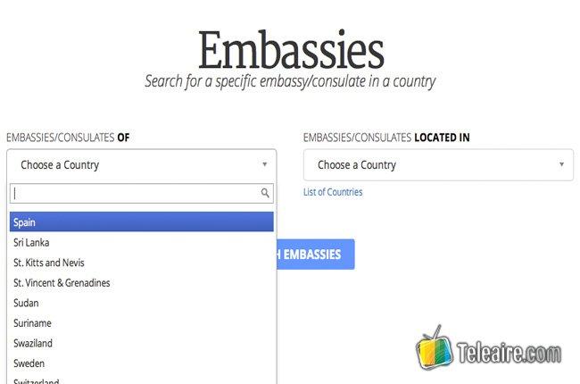 Cómo utilizar Embassy Go Abroad