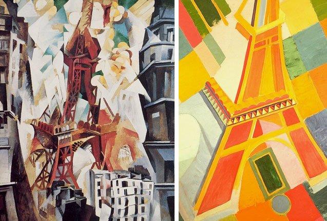 La colección de la Torre Eiffel de Robert Delaunay