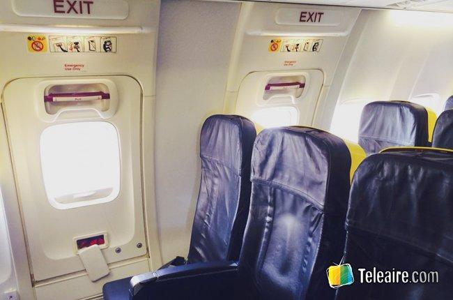 Los mejores y peores asientos en un avión
